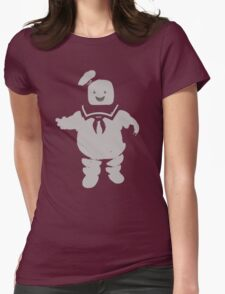 Mr. Stay Puft Marshmallow Man Womens Fitted T-Shirt