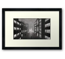 Lonely Cityscape Framed Print