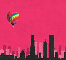 Coldplay Chicago Duvet by Marcuccio