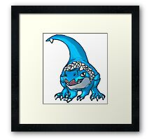 Jurassic PokePark: Shiny Edition.  Framed Print