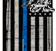 Blue Line LEO Dont Tread On me by BlueLine LEO