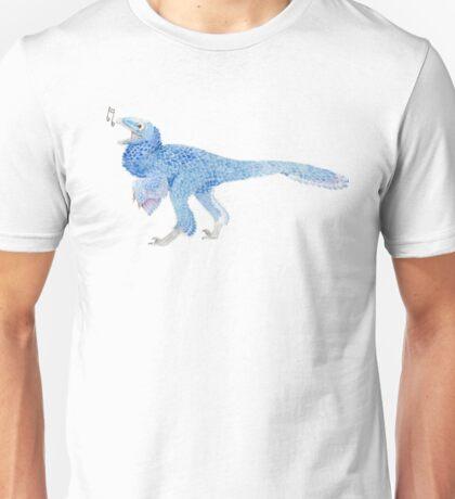 Singing Dinosaur Unisex T-Shirt