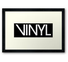 Vinyl TV show Framed Print