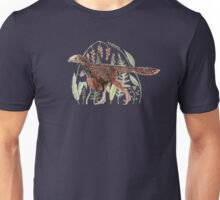 Bambiraptor and flowers Unisex T-Shirt