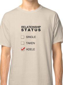 Relationship Status - Adele Classic T-Shirt
