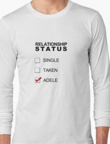 Relationship Status - Adele Long Sleeve T-Shirt
