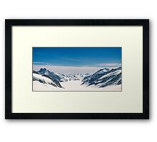Snowy panorama Framed Print