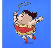 Wonder Women Got Fat Photographic Print