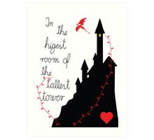 Highest tower Art Print