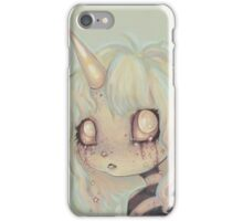I Cry Sparkles - unicorn girl iPhone Case/Skin