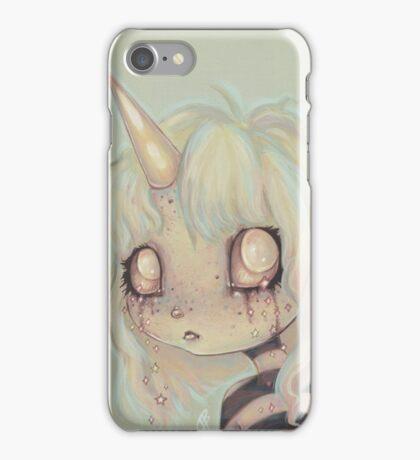 I Cry Sparkles - unicorn girl iPhone Case/Skin