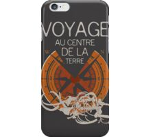 I Love Books Collection: Journey to the Center of the Earth iPhone Case/Skin