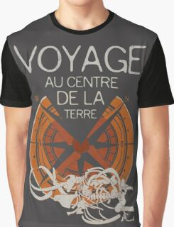 Books Collection: Jules Verne Graphic T-Shirt