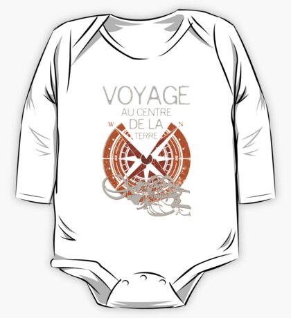 Books Collection: Jules Verne One Piece - Long Sleeve