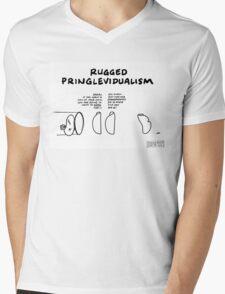 """Rugged Pringlevidualism"" Mens V-Neck T-Shirt"