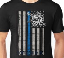 Blue Line LEO Dont Tread On me Unisex T-Shirt