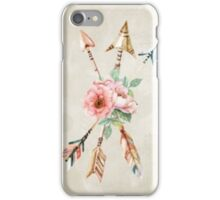 The flower arrows iPhone Case/Skin