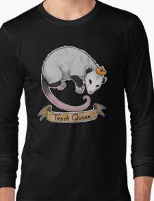 Trash Queen Opossum Possum Long Sleeve T-Shirt
