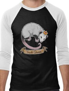 Trash Queen Opossum Possum Men's Baseball ¾ T-Shirt