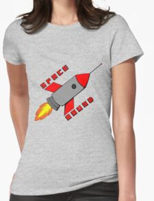 I'm Going Space Bound Womens Fitted T-Shirt