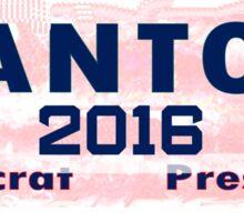 Santos For President Sticker