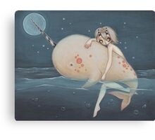 The Narwhal fairy sprite Canvas Print