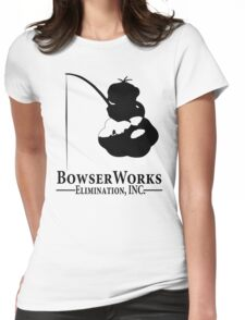 Bowser Works Womens Fitted T-Shirt