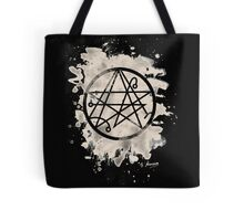 Necronomicon bleached Tote Bag