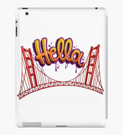 Hella - SF iPad Case/Skin