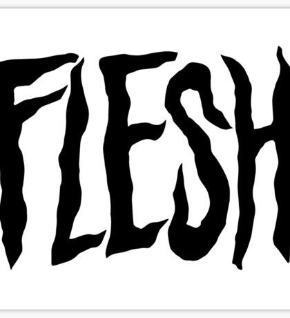 Flesh Records Sticker