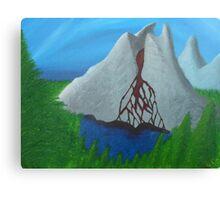 Lake of the Bleeding Mountain Canvas Print