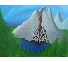 Lake of the Bleeding Mountain Photographic Print