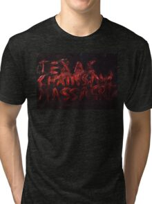 Texas chainsaw massacre Tri-blend T-Shirt