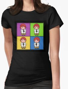 Tie Guy Eric Squared Womens Fitted T-Shirt