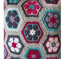 Crochet Kaleidoscope ... Photographic Print