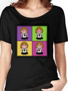 Tie Girl Liz Squared Women's Relaxed Fit T-Shirt