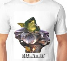 "Dr Boom ""Deal with it"" Unisex T-Shirt"