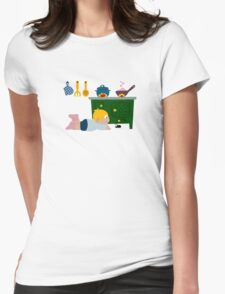 Creppy-Crawly Friend Womens Fitted T-Shirt