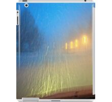 Blinding Snowstorm iPad Case/Skin