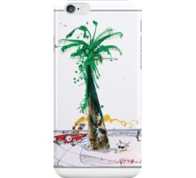 Gonzo Palm Tree Ralph Steadman Case + stickers iPhone Case/Skin