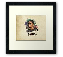 Indra - The 100 Framed Print