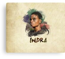 Indra - The 100 Canvas Print