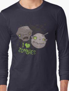 Zombie Heads Long Sleeve T-Shirt