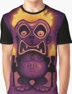 Tiki Munkee Graphic T-Shirt