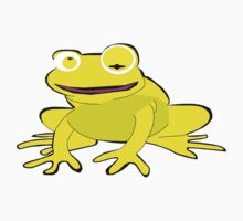 Yellow frog Kids Clothes