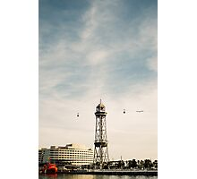 Barcelona Cable Car Photographic Print
