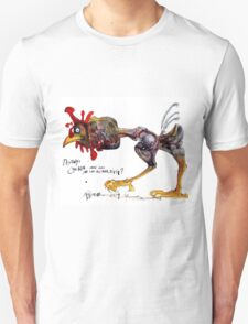 Destiny's Chicken  - Ralph Steadman Unisex T-Shirt