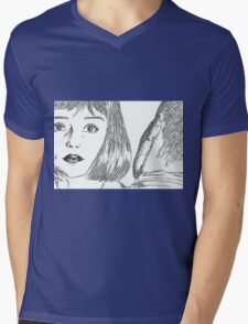 KARMACOMA SCENE Mens V-Neck T-Shirt