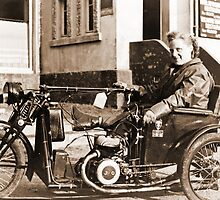 Bad Ass Modified Motorcycle used during WW2 by Obama666