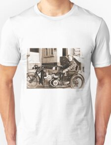 Bad Ass Modified Motorcycle used during WW2 T-Shirt